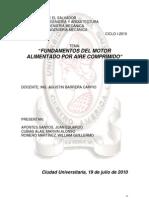 FUNDAMENTOS DEL MOTOR DE AIRE COMPRIMIDO