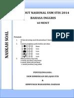 soal-tonas-usm-stis-bahasa-inggris-2014.doc