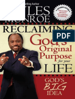 Dr Myles Munroe Reclaiming Gods Original Purpose for Your Life