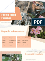 Endemic Flora and Fauna