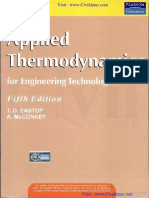 Applied Thermodynamics and Engineering Fifth Edition by T - By Civildatas.com