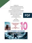 The Power of Ten Calendar 2011