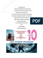 The Power of Ten Calendar 2011
