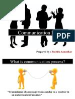 Communication process effective