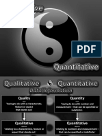 Qualitative vs Quantitative Nov 18