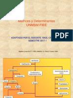 matrices y determinantes RCV 2017-I.ppt