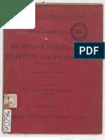 Munitions d'Artillerie Et Effets Des Projectiles (FR-1911)
