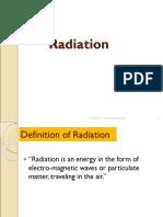1 Radiation