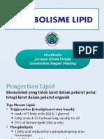 Metabolisme Lipid OK