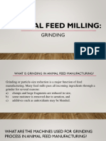 Animal Feed Milling