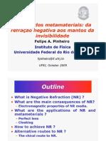 A Física dos metamateriais