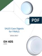 Sales Case Digest for FINALS (405)