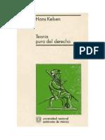 Kelsen - Teoría Pura Del Derecho