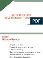 Jurisprudencia de Los Remedios Contractuales.2017