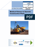 SFPSG-Medical Fitness Plant Operations