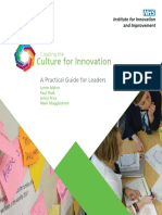Creating the Culture for Innovation Practical Guide for Leaders Dyson Quotes