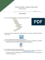 Ficha Redes Arquitetura