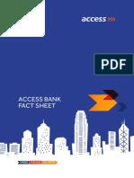 Access Bank Fact Sheet 2017