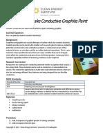 Conductive graphite paint