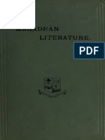 Magadhan Literature, Being a Course of Six Lectures Delivered at Patna University in December 1920 and April 1921-Haraprasad Sastri
