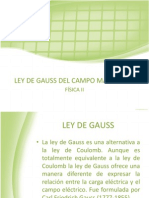 Ley de Gauss Expo