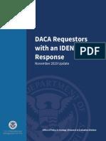 USCIS DACA Recipients Arrests Report