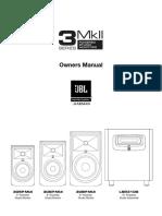 JBL 3 Series MkII Owners Manual