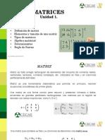 Clase 1. Matrices (1)