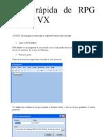 Guía RPG Maker VX