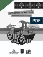Manual Actividades Recreativas Vida Salvaje  ECV 2020