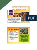 Fitoterapia e Alimentos Funcionais No Tratamento Da Disbiose Intestinal