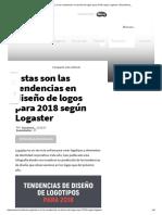 Estas Son Las Tendencias en Diseño de Logos Para 2018 Según Logaster _ Brandemia