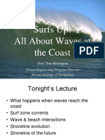 Deep and Shallow-Water Wave Regions