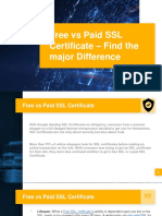 Difference between Free SSL and Paid SSL Certificate