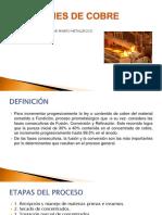 EXPOSICION EN TEMAS DE Seguridad Fundicion Cobre