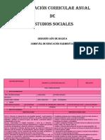 Pca Estudios Sociales Tercero