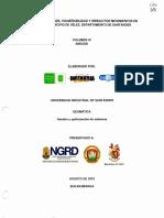 Estudio Amenaza Vulnerabilidad y Riesgo Municipio de Velez