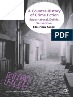 Maurizio Ascari - A Counter-History of Crime Fiction_ Supernatural, Gothic, Sensational (Crime Files) (2007, Palgrave Macmillan)