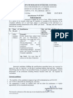 Alrca Chennai Walk in for Office Assistant Admin Post Advt Details 49b185