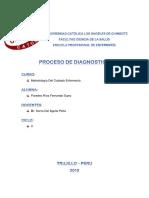 PROCESO DE DIAGNOSTICO