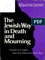 Lamm - The Jewish way in death and mourning