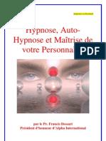 Hypnose Et Auto-Hypnose
