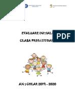 Evaluare Inițială - CP