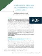 OLIVEIRA - As Contribuições de PF Para a Ed. de Jovens e Adultos