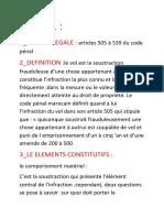 LE VOL .Walid.resume