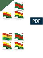 Bandera Boliviana Modificaciones