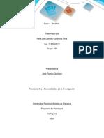 Fase 3_Fundamentos y Generalidades de La Investigacion