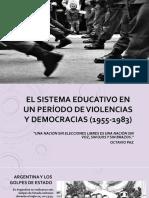 Educación argentina desde 1955 hasta 1983