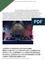 Arminianismo, La Vía Media, Bíblica y Equilibrada – Pensamiento Pentecostal Arminiano