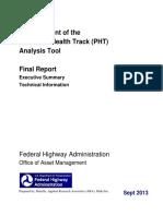 PHT Summary Report V2
